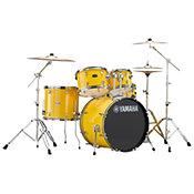 Yamaha Rydeen Fusion 20'' Mellow Yellow + Hardware + Cymbales