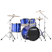 Yamaha Rydeen Fusion 20'' Fine Blue + Hardware + Cymbales