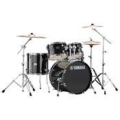 Yamaha Rydeen Fusion 20'' Black Glitter + Hardware + Cymbales