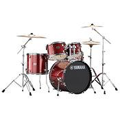 Yamaha Rydeen Fusion 20'' Burgundy Glitter + Hardware + Cymbales