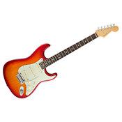 FenderAmerican Elite Stratocaster ébène Aged Cherry Burst