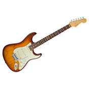 FenderAmerican Elite Stratocaster ébène Tobacco Sunburst