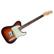 Fender American Elite Telecaster ébène 3-Color Sunburst
