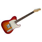 Fender American Elite Telecaster Ebène Aged Cherry Burst
