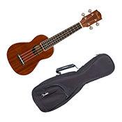 FenderSeaside Soprano Ukulele + Housse