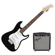 Squier Strat SS Pack Short-Scale Black