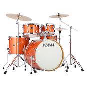 TamaSilverstar Bright Orange Sparkle 22