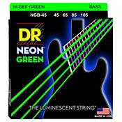 DR StringsHi Def Neon Green NGB-45