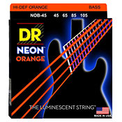 DR StringsHi Def Neon Orange NOB-45