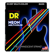 DR StringsHi Def NEON MCB-45 Multi-Color