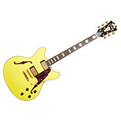 D'AngelicoDELUXE DC Matte Electric Yellow