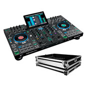 Denon DJPrime 4 Flight Pack