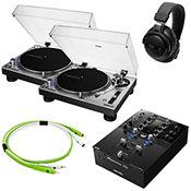 Audio TechnicaAT-LP140XP-SV Pack Deluxe