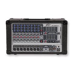 Pvi 8b plus console de mixage amplifi e peavey - Console de mixage amplifiee ...