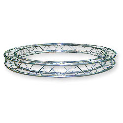 57CC15600 / Cercle section structure alu carrée 150 Diamètre 6m00 extérieur