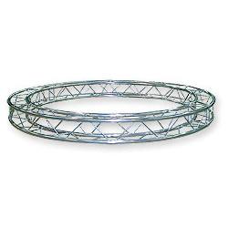 57SZC25400 / Cercle section structure alu carrée 250 Diamètre 4m00 extérieur