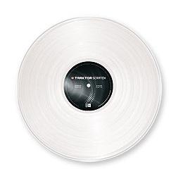 Traktor Vinyl White MKII