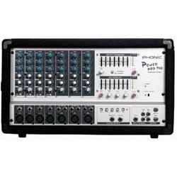 Pow pod 740 console de mixage amplifi e phonic - Console de mixage amplifiee ...