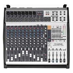 Pow pod 1860 console de mixage amplifi e phonic - Console de mixage amplifiee ...