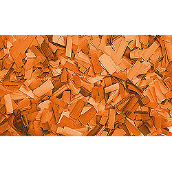 Confettis Rectangle 55 x 17mm Oranges