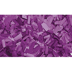 Confettis Rectangle 55 x 17mm Pourpres