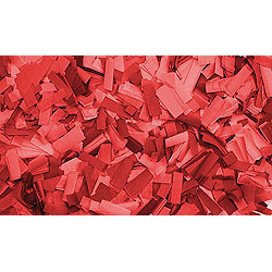 Confettis Rectangle 55 x 17mm Rouges