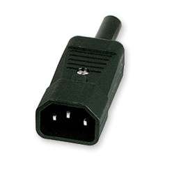 IEC EURO MALE CONNECTOR