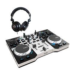 Dj control instinct casque dj contr leur dj usb - Table de mixage hercules dj control instinct ...