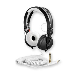 Câble Rechange Lux Spirale Hd25 White Accessoires Casque Zomo