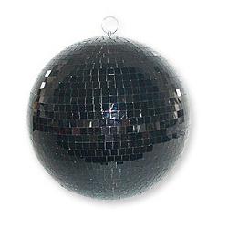 MB008BL Boule à facettes noire 20cm