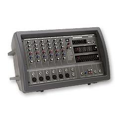 Xm 410 console de mixage amplifi e samson - Console de mixage amplifiee ...