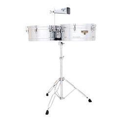 Natural//Chrome Latin Percussion LP Matador 12-1//2 Wood Tumbadora