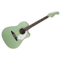 Sonoran Sce Surf Green Folk Electro Acoustic Guitar Fender Sonovente Com En