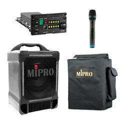 Multimedia Speaker System Battery Operated 2 Channel Stereo B-707