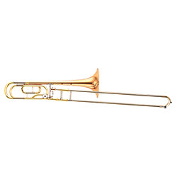 YSL 448 GE II Trombone Complet, Grosse Perce, Pavillon Cuivre Rose