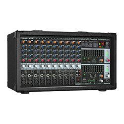 Pmp2000d console de mixage amplifi e behringer - Console de mixage amplifiee ...