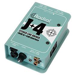 J+4 Stereo Line Driver