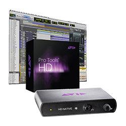Pro Tools HD Native Thunderbolt + Logiciel Pro Tools Ultimate