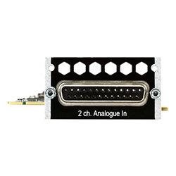 MTRX carte option 2 entrées mic/line