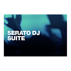 Serato DJ SUITE Scratch Card