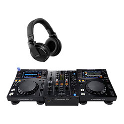 2x XDJ-700 + DJM 450 + HDJ-X5K