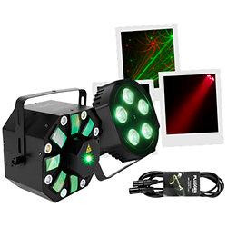 THRILL Pack Multi-FX + 2 x PAR64-LED