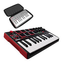 Akai MPK Mini Play Clavier maître 25 touches USB autonome