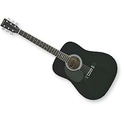 guitare gaucher 3/4
