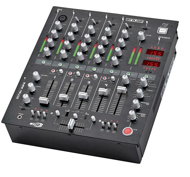 table de mixage 2 sorties master