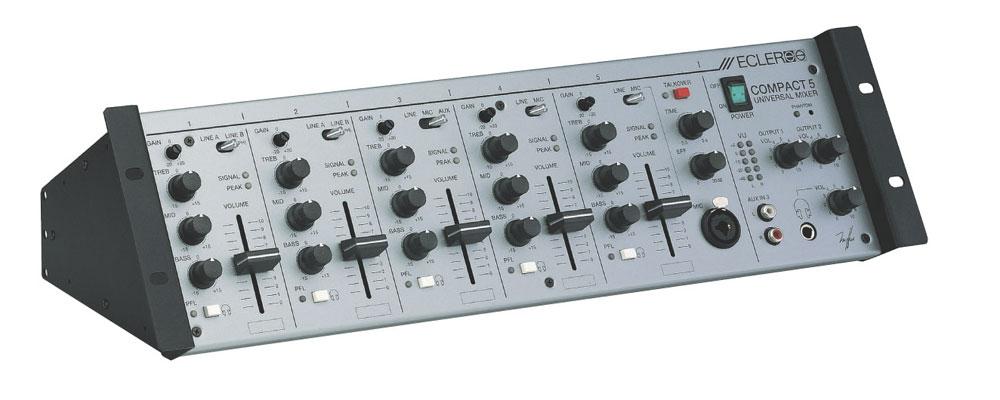 table de mixage ecler compact 5