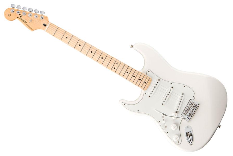 guitare gaucher fender