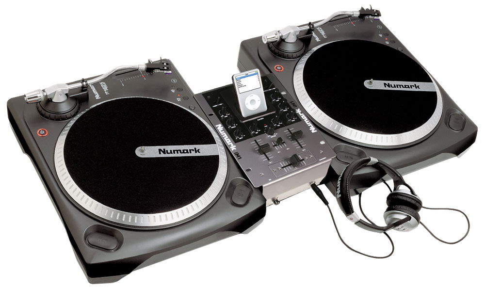 table de mixage vinyle