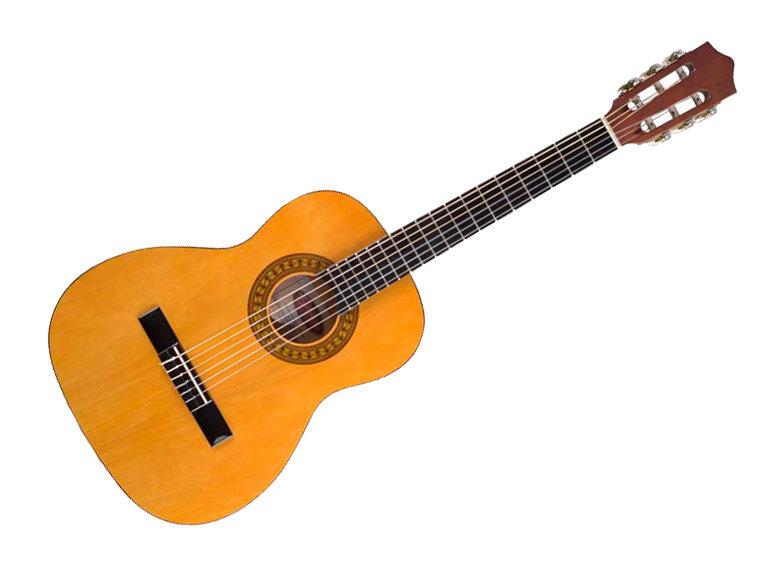schwarz matt STAGG C430 M BLK 3//4 Konzertgitarre