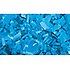 Confettis Rectangle 55 x 17mm Bleus Clairs